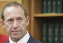 Andrew Little was satisfied that the NZSIS had the power needed to investigate foreign infiltration. (Source: RNZ / Rebekah Parsons-King)