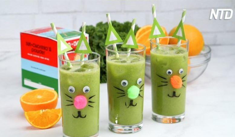 Kid-Friendly Chlorella Green Smoothie