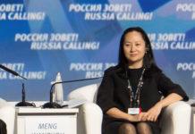 Huawei CFO Meng Wanzhou. (Alexander Bibik/Reuters)