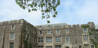 A McMaster University building in a file photo. (Mathew Ingram/creativecommons.org/licenses/by-sa/2.0/)