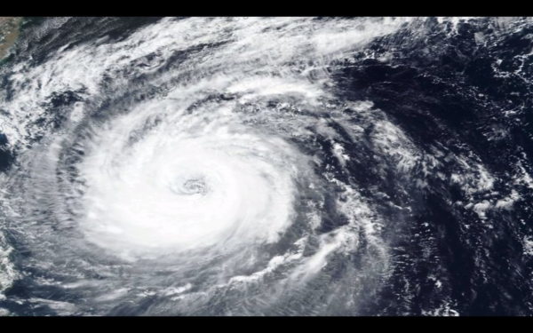 Typhoon Nina hit in August 1975 bringing a year's worth of rain in 24 hours. (Image: Screenshot / YouTube)