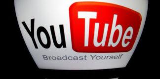 "The ""YouTube"" logo on a tablet in Paris on Dec. 4, 2012. (Lionel Bonaventure/AFP/Getty Images)"
