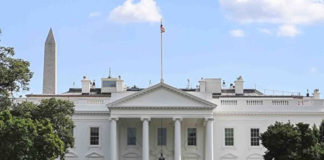 The White House issued a rare statement on April 10 accusing the taxpayer-funded Voice of America radio station network of promoting propaganda from the Chinese Communist Party about the spread of the CCP virus (COVID-19). (Samira Bouaou/ The Epoch Times)